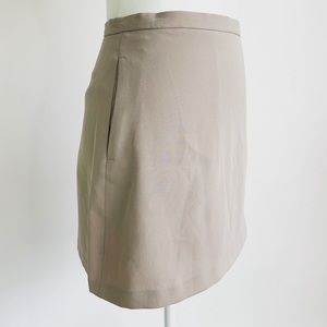 Wilfred Tan Mini Skirt